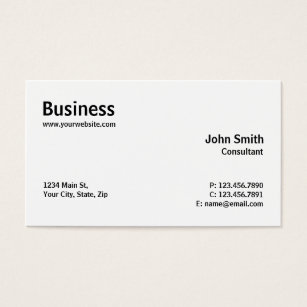 Computer repair business cards templates zazzle professional modern plain simple computer repair business card cheaphphosting Images