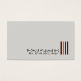 Professional Modern Real Estate Building Logo I Business Card