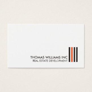 Professional Modern Real Estate Building Logo II Business Card