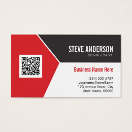 Qr Code Business Cards Templates Zazzle - Business card with qr code template