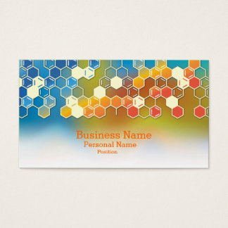 Professional Modern Science Business Laboratory Business Card