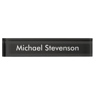 Professional Modern Style Business Desk Nameplate