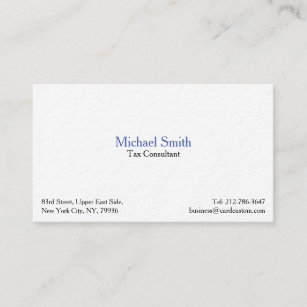 Thick business cards zazzle professional modern thick premium business card reheart Choice Image