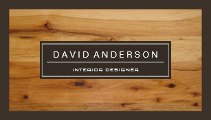 Wood grain business cards templates zazzle professional modern wood grain look business card colourmoves