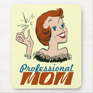 Professional Mom Mouse Pad