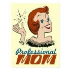 Professional Mom Postcard