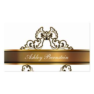 Professional Monogram Business Card