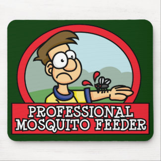 Professional Mosquito Feeder Mousepad