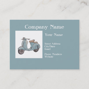 Motorcycle Business Cards Zazzle
