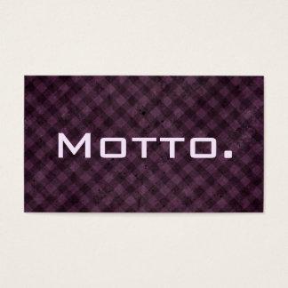 Professional Motto Business Card No.7
