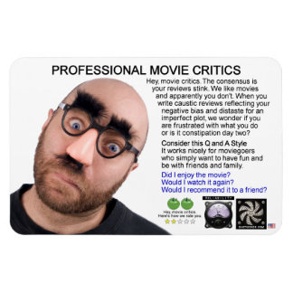 PROFESSIONAL MOVIE CRITICS MAGNET