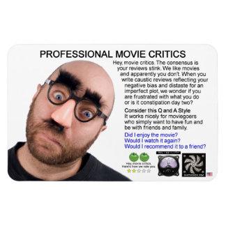 PROFESSIONAL MOVIE CRITICS RECTANGULAR PHOTO MAGNET
