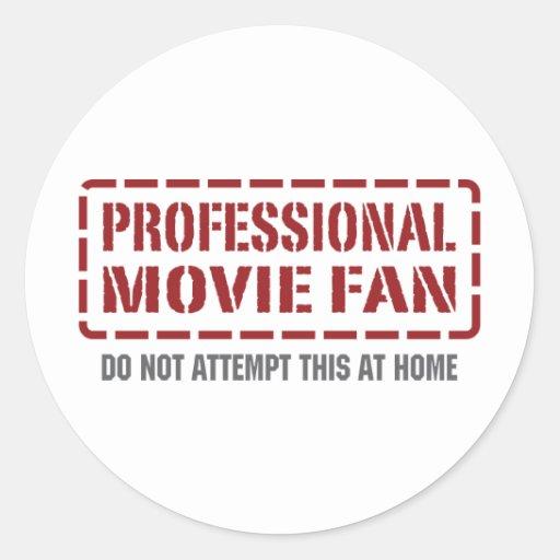 Professional Movie Fan Sticker