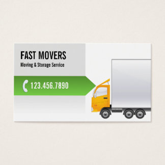 Professional Moving Company Business Card