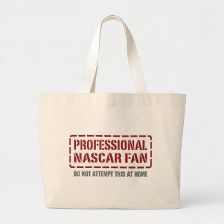 Professional NASCAR Fan Large Tote Bag