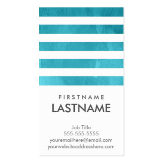 Professional Networking Water Color Business Cards