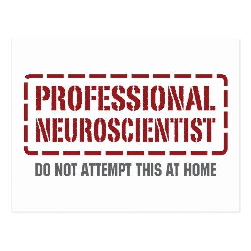 Professional Neuroscientist Post Cards