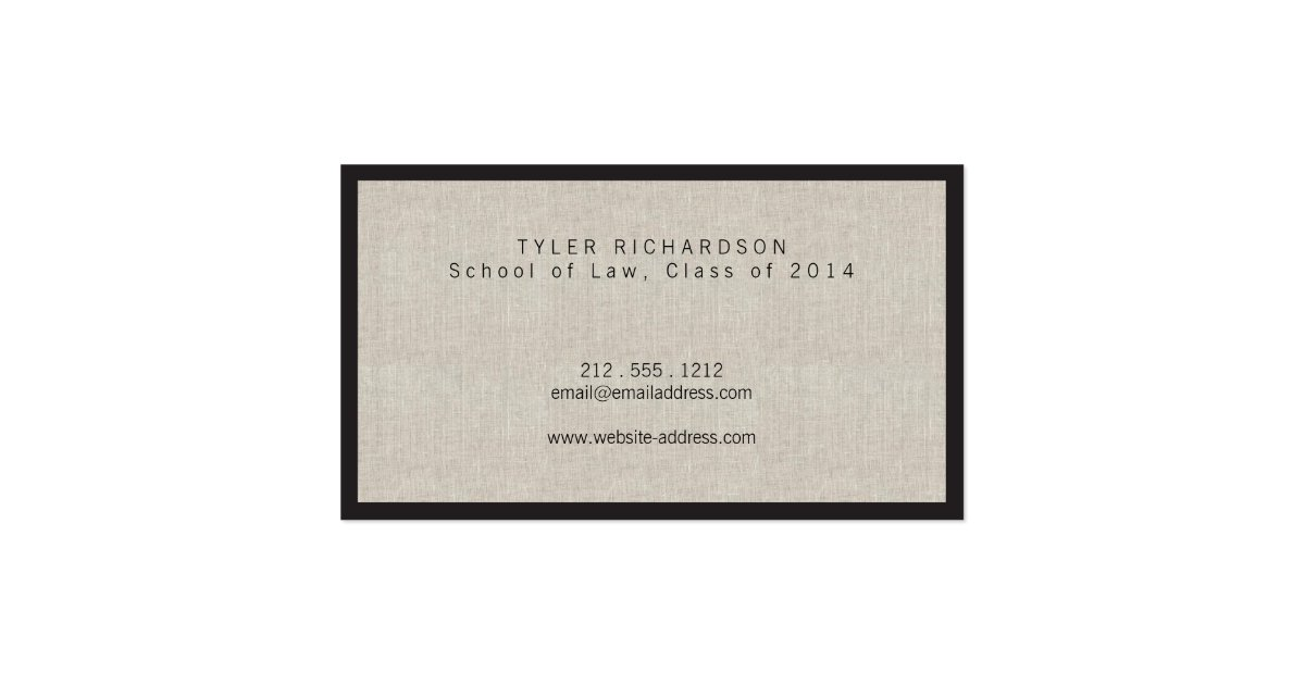 Professional new graduate student business card zazzle for Accounting student business card
