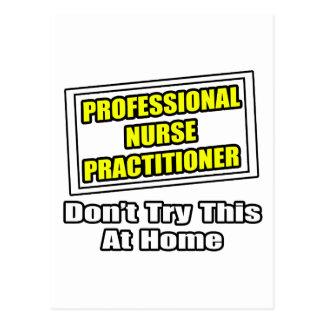 Professional Nurse Practitioner...Joke Post Card