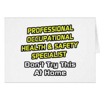 Professional Occ Health and Safety Specialist Card