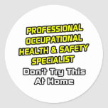 Professional Occ Health and Safety Specialist Sticker