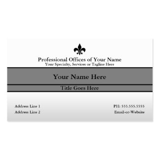 professional offices QR code Double-Sided Standard Business Cards (Pack Of 100)