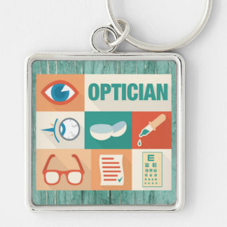Professional Optician Iconic Design Keychain