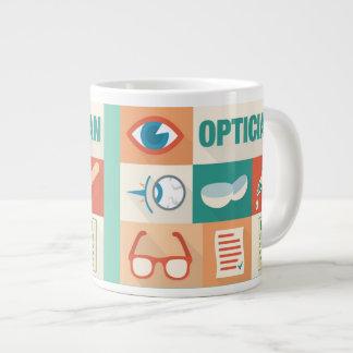 Professional Optician Iconic Design Large Coffee Mug