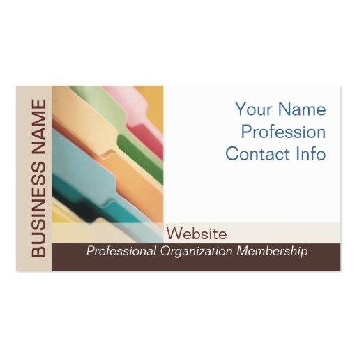 Professional organizer business card templates bizcardstudio professional organizer business card colourmoves