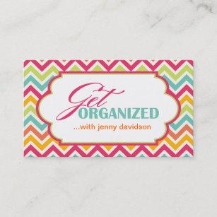 Professional organizer business cards zazzle professional organizer business cards colourmoves