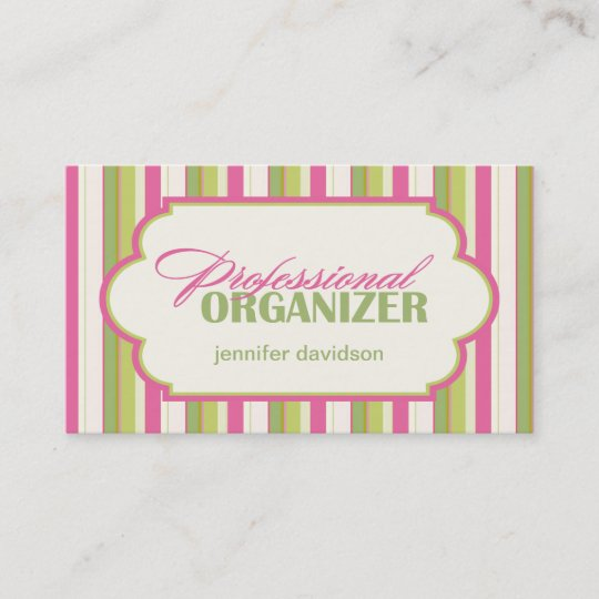 Professional organizer business cards zazzle professional organizer business cards colourmoves
