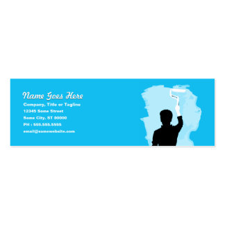 professional painter Double-Sided mini business cards (Pack of 20)