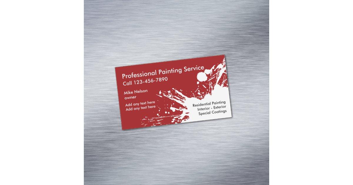 House Painter Business Cards & Templates | Zazzle