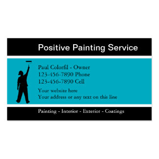 Professional Painter Business Cards