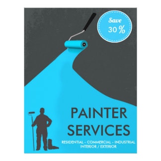 Professional Painter Discount Flyer