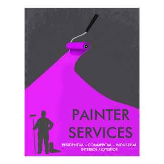 Professional Painter Flyer