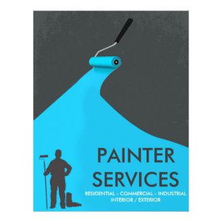 painting flyers
