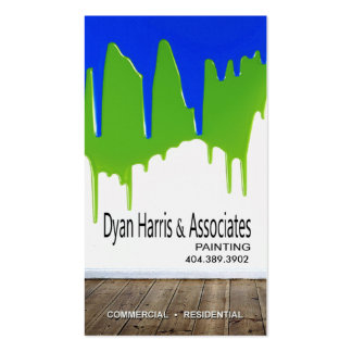 Professional Painting, Painters, Home Improvement Business Cards