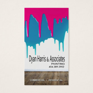 Professional Painting, Painters, Home Improvement Business Card