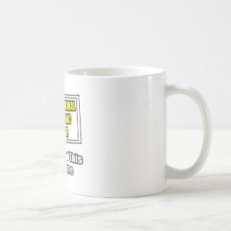Professional Pediatric Nurse...Joke Classic White Coffee Mug