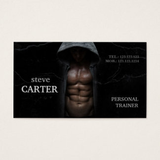 Professional Personal Trainer Bodybuilder Card