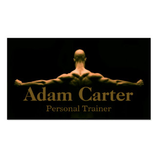 Professional Personal Trainer / Bodybuilder Card Double-Sided Standard Business Cards (Pack Of 100)
