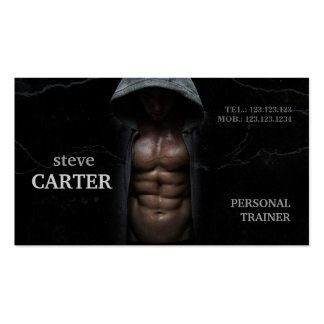 Professional Personal Trainer Bodybuilder Card Double-Sided Standard Business Cards (Pack Of 100)
