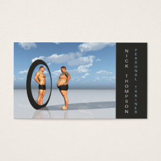 Professional Personal Trainer / Fitness Card