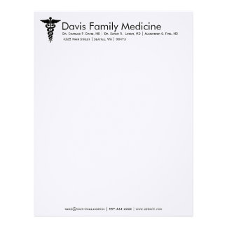 Professional Personalized Doctor's Stationery