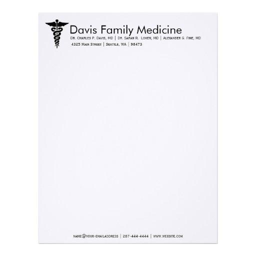 Doctor letterhead template idealstalist doctor letterhead template altavistaventures Images