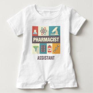 Professional Pharmacist Iconic Designed Baby Romper