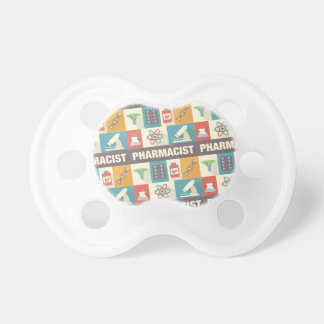 Professional Pharmacist Iconic Designed Pacifier