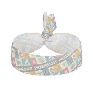 Professional Pharmacist Iconic Designed Ribbon Hair Tie