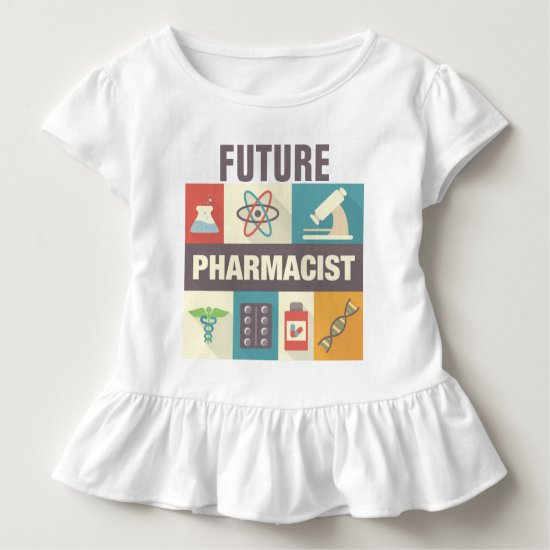 Professional Pharmacist Iconic Designed Toddler T-shirt